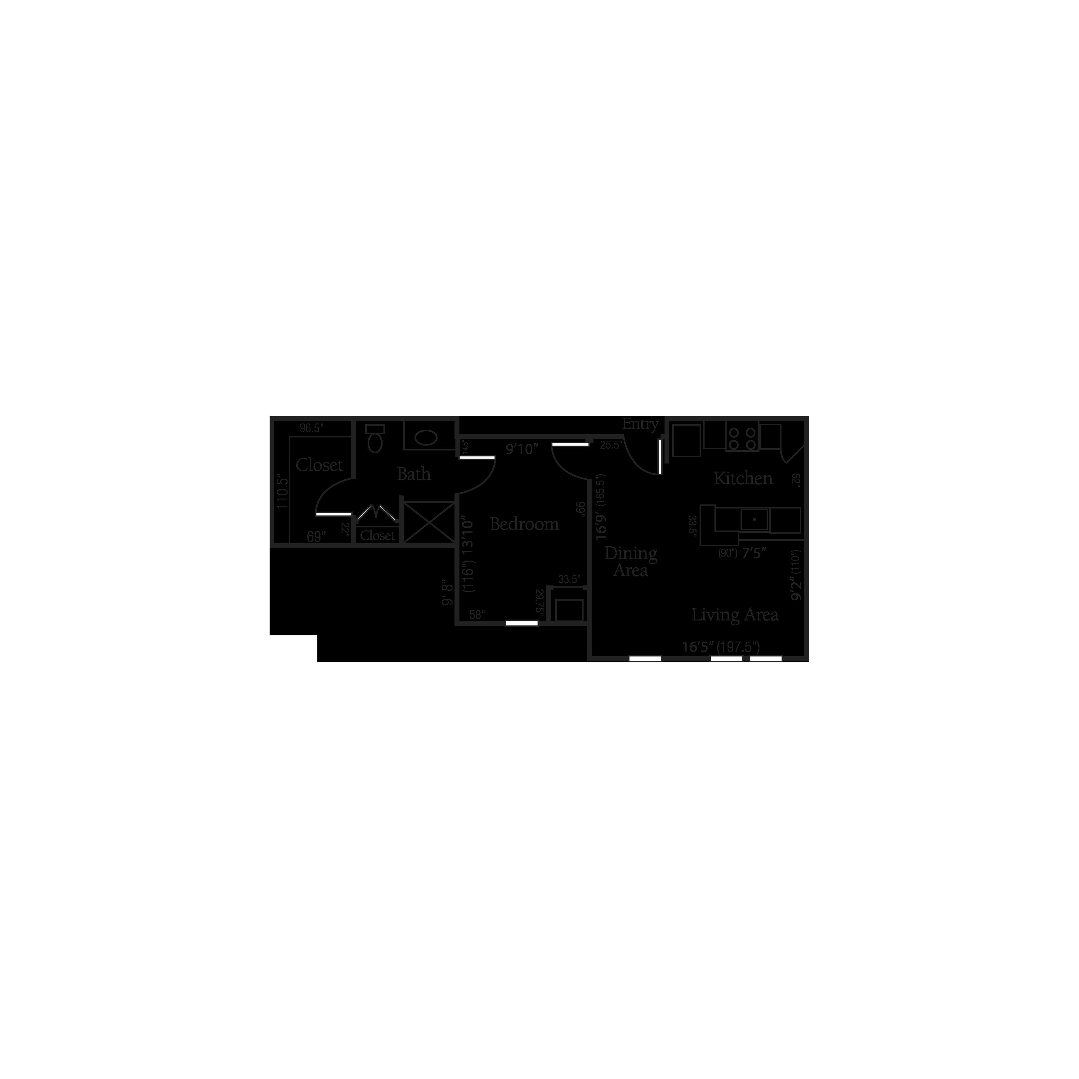The Berkeley floor plan
