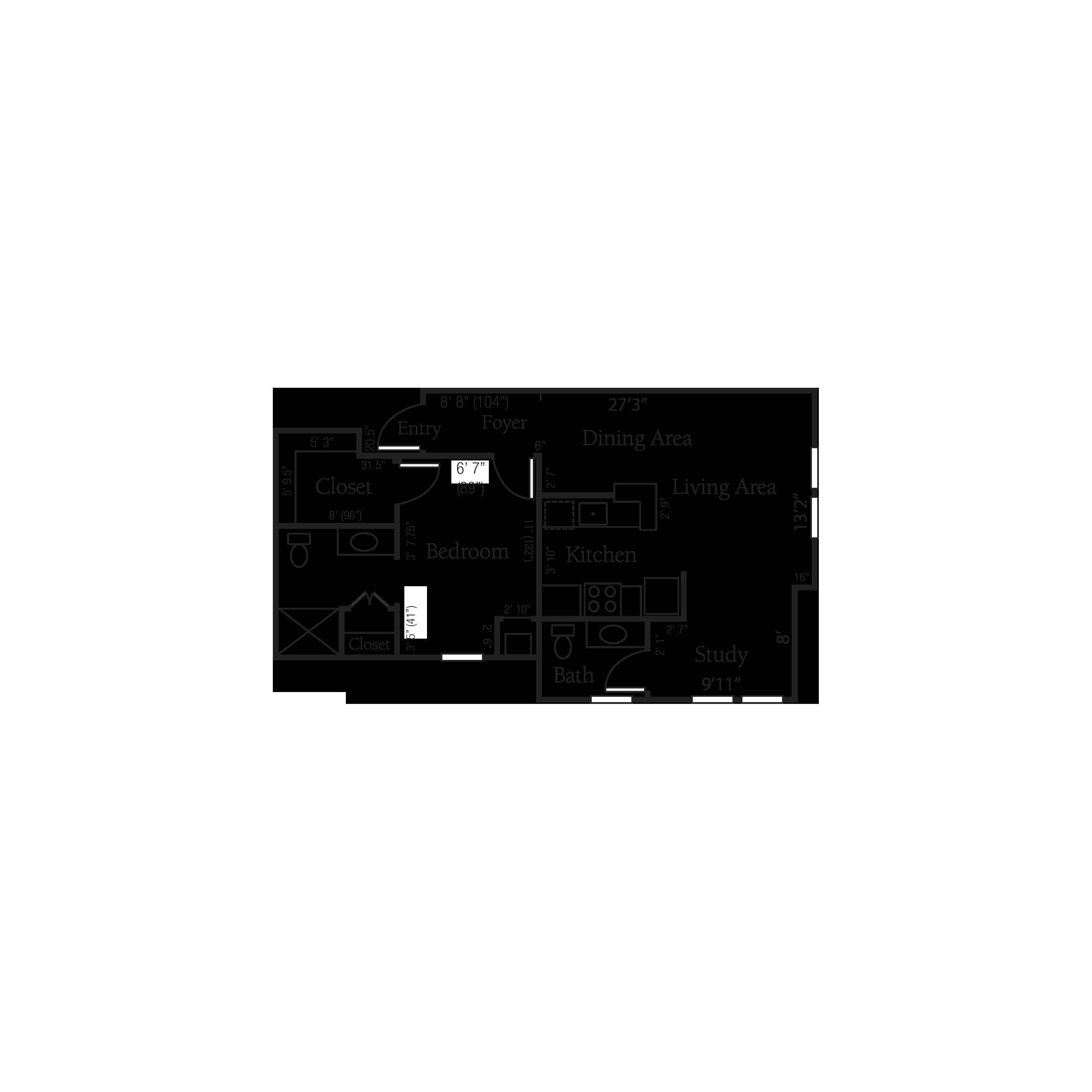 The Kensington floor plan