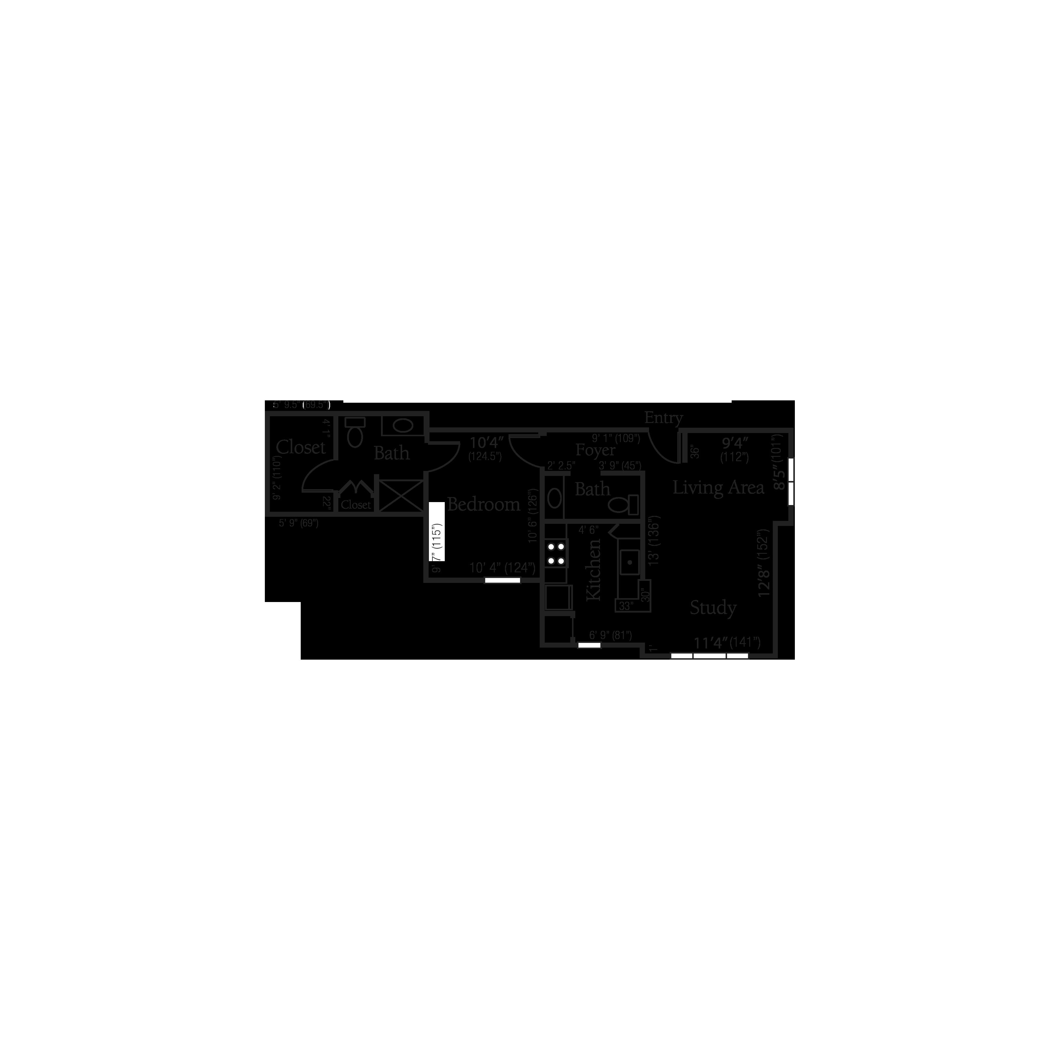 The Essex floor plan