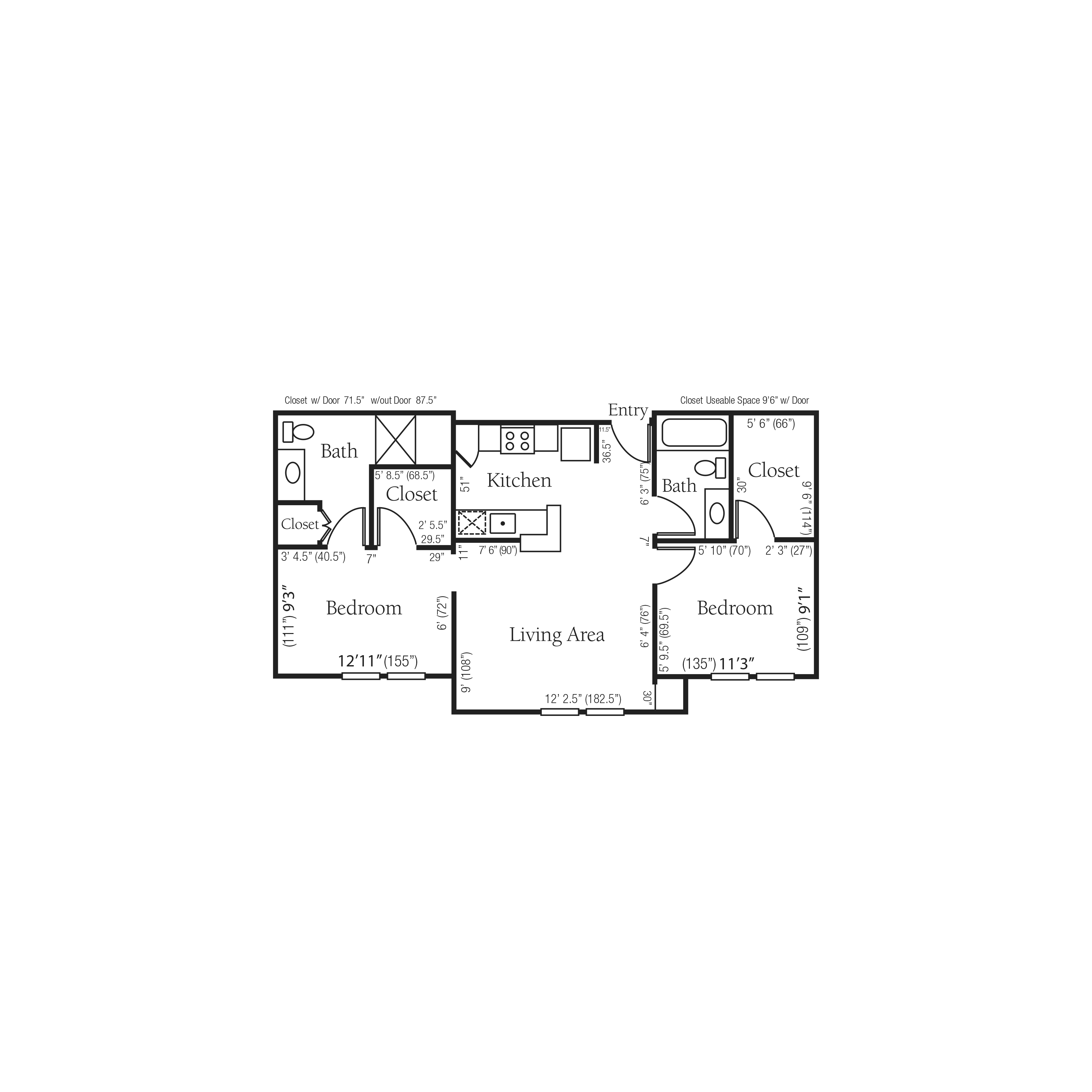 The Chadwick floor plan