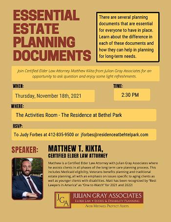 Essential Estate Planning Documents Presentation
