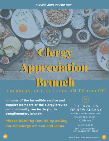 Clergy Appreciation Brunch