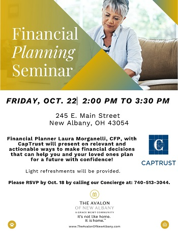 Financial Planning event